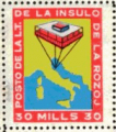 francobollo - isola delle rose